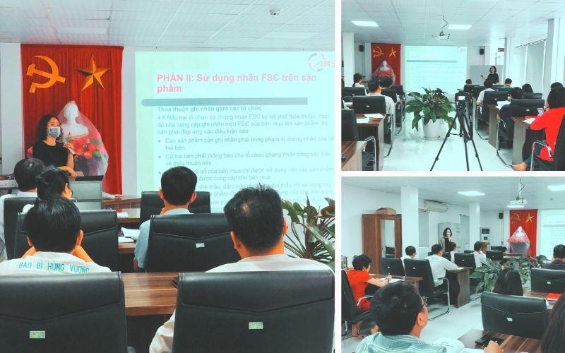 Tư vấn đào tạo FSC tại Công ty CP Bao bì Hùng Vương