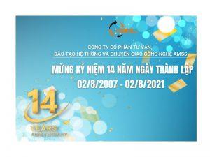 Chào mừng kỷ niệm 14 năm thành lập AMSs (2007-2021)